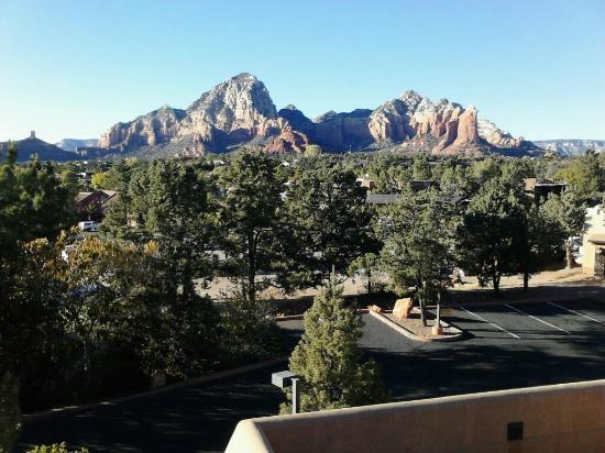 Best Western Plus Inn of Sedona: The view from our terrace
