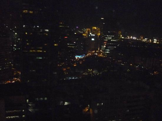 Asian Mansion II: Nighttime view from Room 2010
