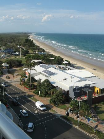 Coolum Caprice Luxury Holiday Apartments: View North from room