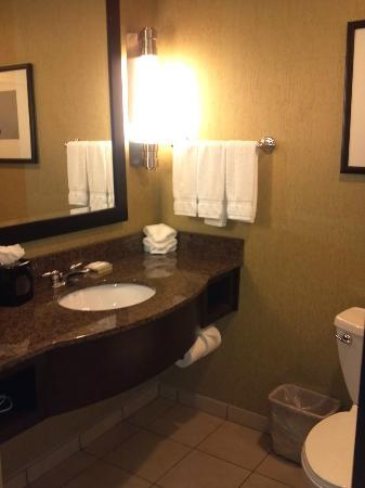 Hilton Garden Inn Nashville Franklin / Cool Spring: Bathroom