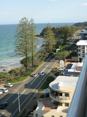 Coolum Caprice Luxury Holiday Apartments: View South from room