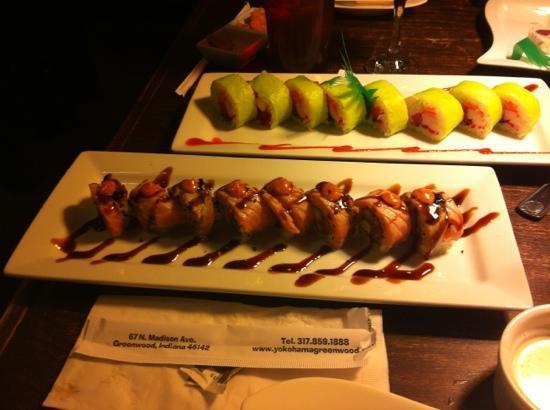 Yokohama: creative sushi rolls