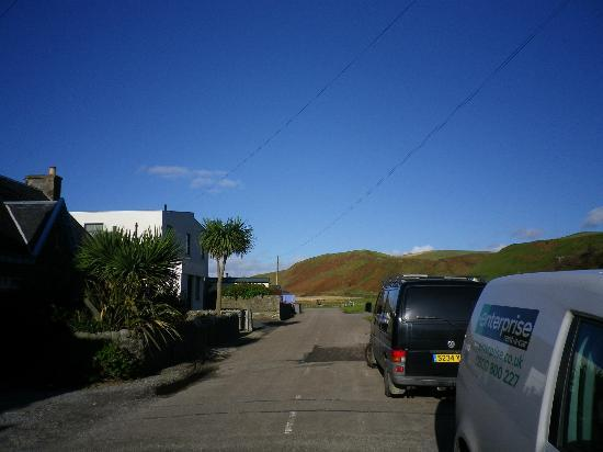 Campbeltown, UK: Entrance Slip road
