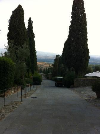 Castello Banfi - Il Borgo: grounds