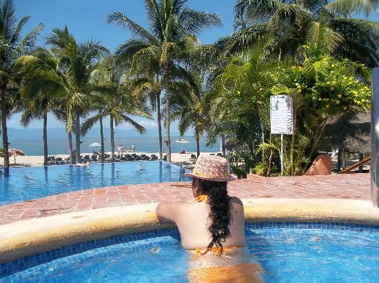 Friendly Vallarta All Inclusive Family Resort: Jacuzzi público.