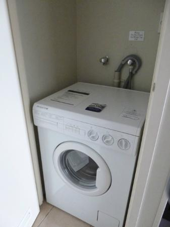 Amora Hotel Auckland: Washing machine (no dryer!)