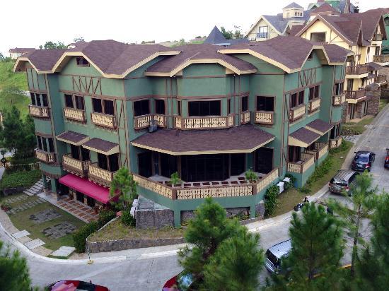 Crosswinds Resort Suites: The view from the 5th floor rooms