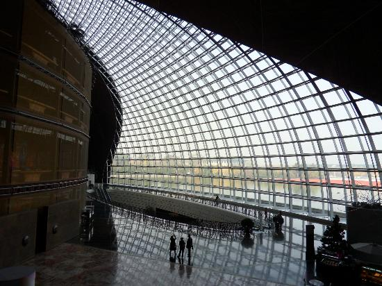 Interior picture of national center for the performing for National centre for the performing arts architecture