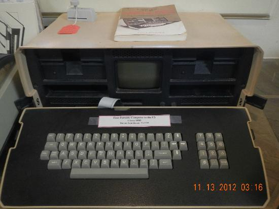 Siuslaw Pioneer Museum: 1st Portable Computer