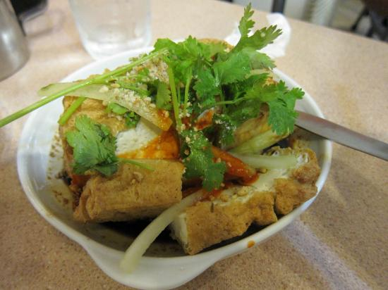 Quik Snack Restaurant: Indonesian Tauhu (tofu) with sweet and sour sauce