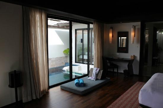 Anantara Bophut Koh Samui Resort : One Bed Room Pool Villa - room to pool