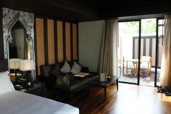 Anantara Bophut Koh Samui Resort : One bed room Pool Villa - Room Sitting Area