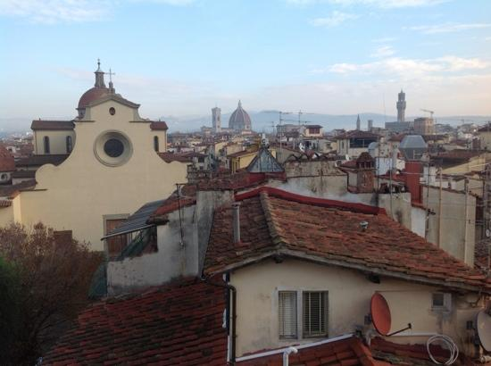 Hotel Palazzo Guadagni: view from our bedroom window