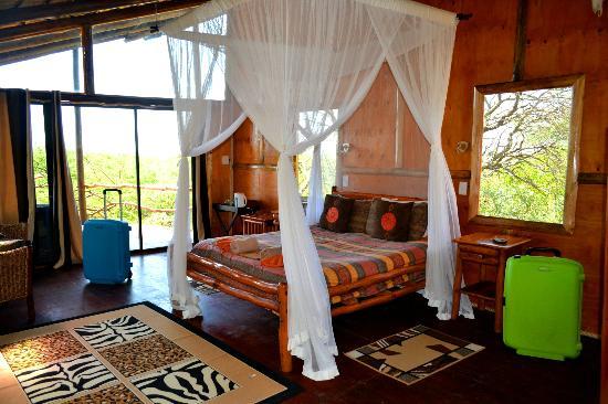 Pezulu Tree House Game Lodge: Hauptschlafzimmer