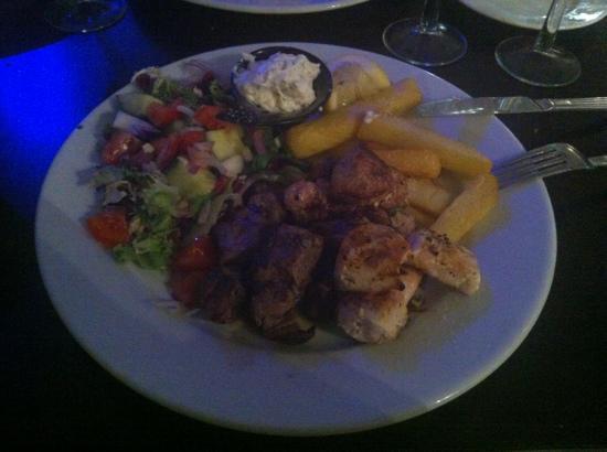 El Greco: Mixed kebab of pork and chicken