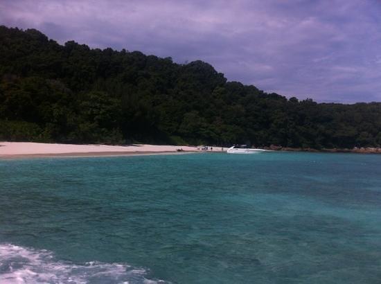 Ko Tachai Island : arrivo