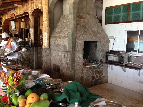 Chez Batista Villas Rustic Restaurant: cuisine