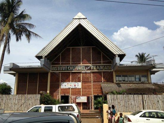 Equatorial Guinea: Centro Cultural Francés, Malabo