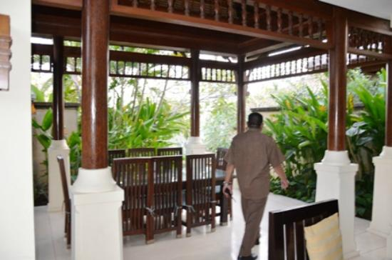 Pat-Mase, Villas at Jimbaran: View from Dining Room