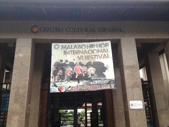 Equatorial Guinea: Centro Cultural Español, Malabo