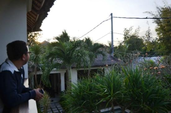 Pat-Mase, Villas at Jimbaran: from upstairs