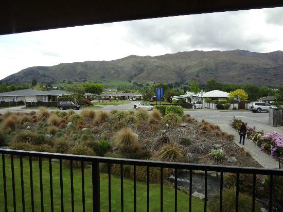 Clearbrook Motel Wanaka : From deck