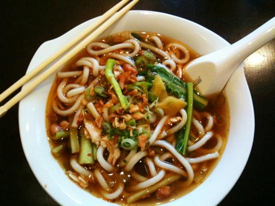 Asia Food ICHI : Udon Nudelsuppe