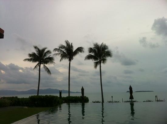 Hansar Samui Resort: blaue Stunde