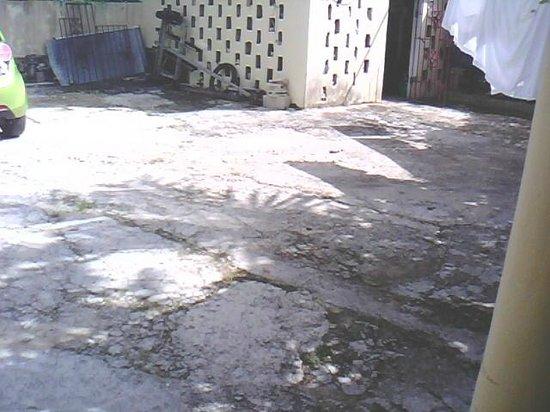 Hotel El Viejo Pirata: dettaglio esterno