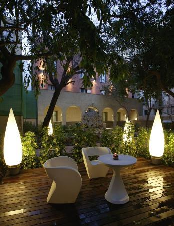 Hotel Petit Palace Boqueria Garden: Jardin