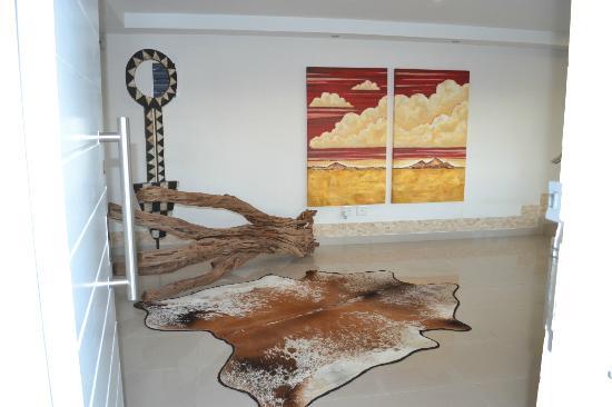 Villa Afrikana Guest Suites: Recepcion
