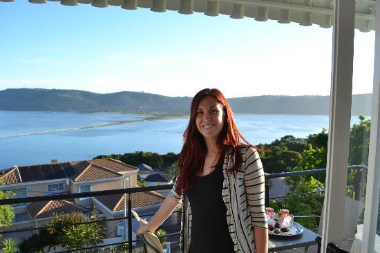 Villa Afrikana Guest Suites: En el balcon