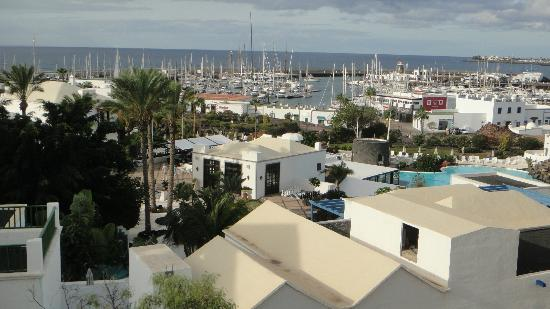Hotel THe Volcan Lanzarote: balcony view
