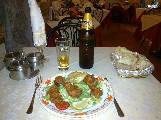 Ristorante Indiano: Menù vegetariano - 1a portata