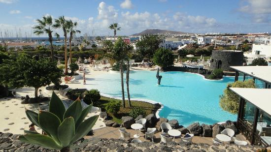 Hotel THe Volcán Lanzarote: Main pool