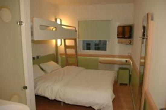 Hôtel Ibis Budget Poitiers Sud: Chambre Ibis Budget