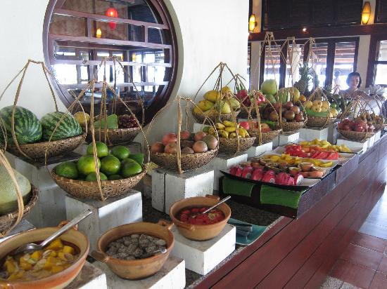 Evason Ana Mandara Nha Trang: Breakfast fruit