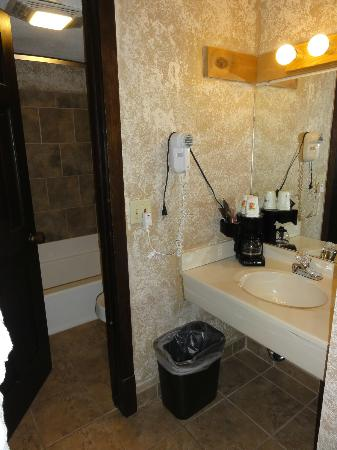 Americas Best Value Inn-Georgetown Lodge: bathroom