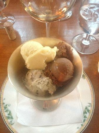 Comtesse Therese Bistro: ice cream medley