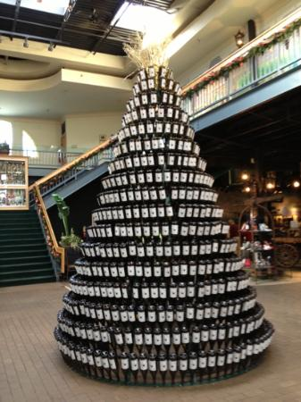 Chateau Elan Winery And Resort: a wine lovers Christmas tree!