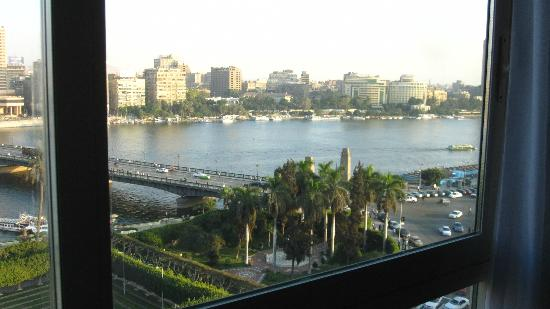Novotel Cairo El Borg: Nile view from our room