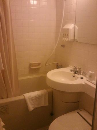 Ochanomizu St . Hills Hotel: バスルーム 普通の広さ