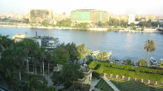 Novotel Cairo El Borg: View from NIle side room