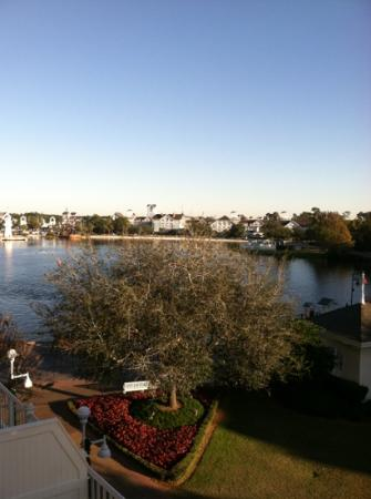 Disney's BoardWalk Inn: view fr balcony
