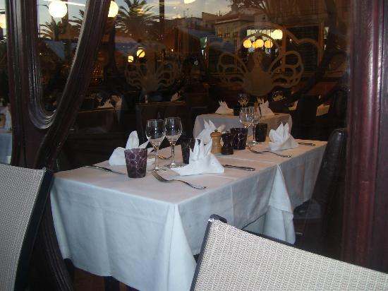 LE VAUBAN : LA TABLE AVANT NOTRE ARRIVEE