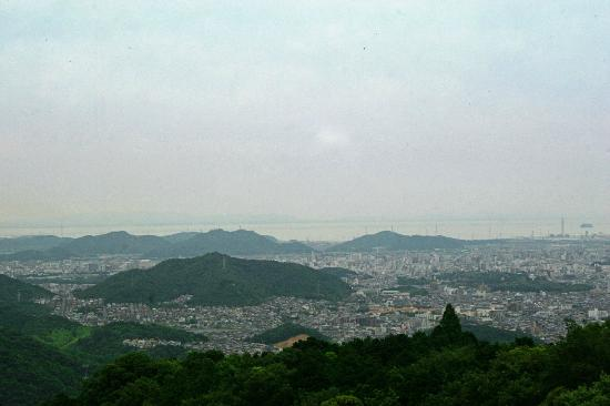 Mt Shosha hiking: view