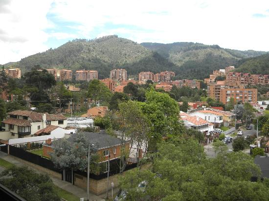 NH Collection Bogota Hacienda Royal: View from the hotel window