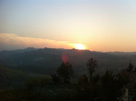 Agriturismo Vecchio Torchio : Sunset