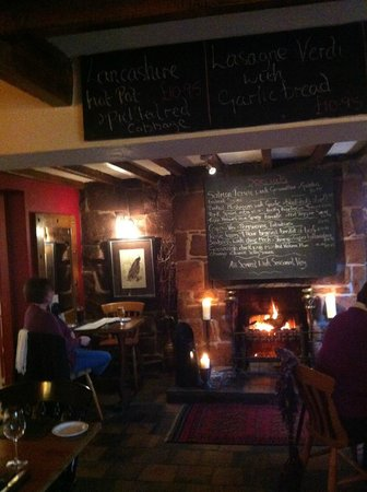 The Boot Inn: the upper restaurant area