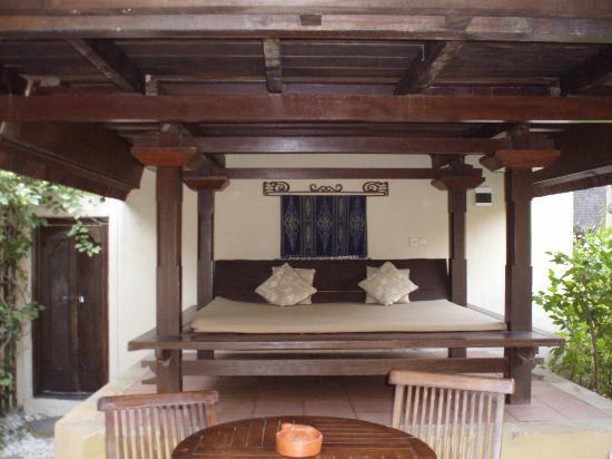 Hotel Vila Ombak: divanoletto ala piano terra